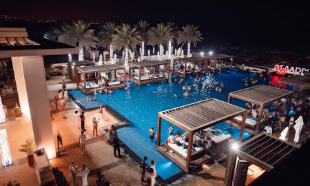 Saadiyat Beach Club Pool Party